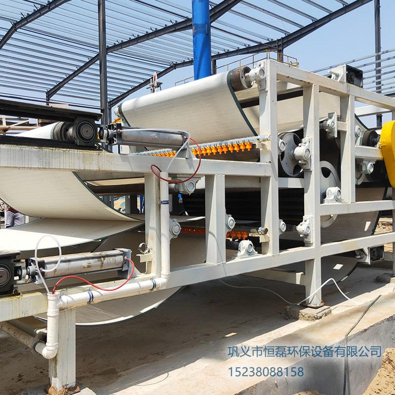 新疆维吾尔自治区洗砂泥浆带式压滤机