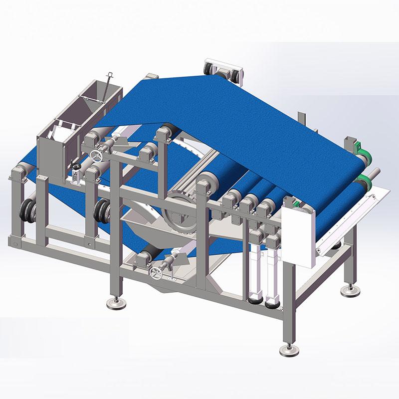 黑龙江省高效重力脱水式带式压滤机