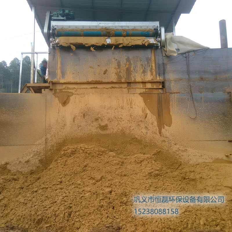 吉林省河道淤泥带式压滤机