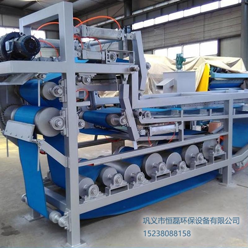 黑龙江省造纸污泥带式压滤机