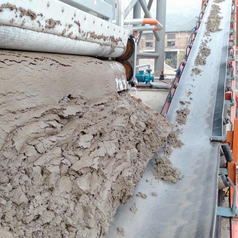 新疆维吾尔自治区制沙场洗砂污泥脱水带式压滤机